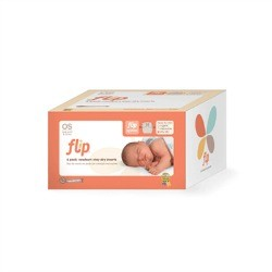 Flip Stay Dry Newborn Diaper Insert - 6 pack