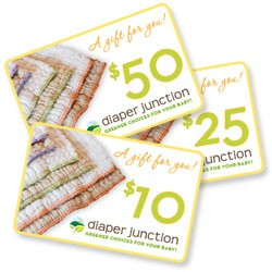 Cloth Diaper Gift Certificate