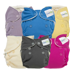 GroVia Newborn AIO 6-Pack