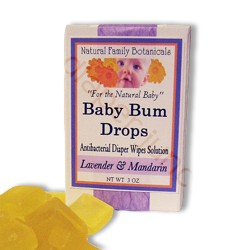 Baby Bum Drops Wipes Solution
