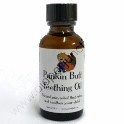 Punkin Butt Teething Oil 1oz