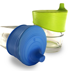 SiliSkin® Universal SIPPY Tops