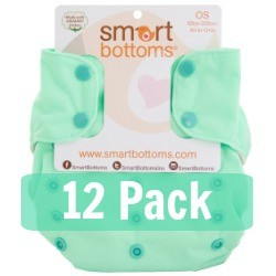 Smart Bottoms Smart One 3.1 All-in-One Diaper - 12 Pack