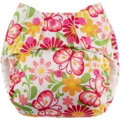 Blueberry Simplex One Size All In One Diaper