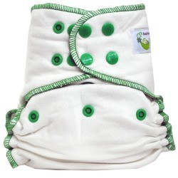 Sweet Pea One Size Bamboo Fitted Diaper