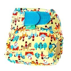 Tots Bots Easy Fit Diaper V4