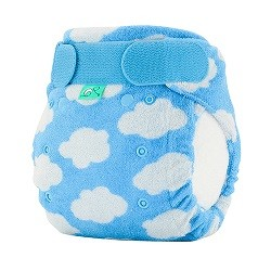 Tots Bots Bamboozle Fitted Diaper