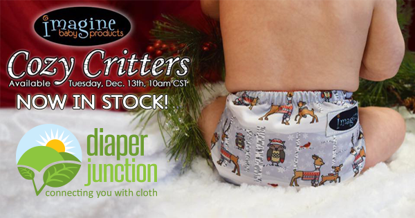 Your cloth diaper stash is about to get a whole lot cuter!