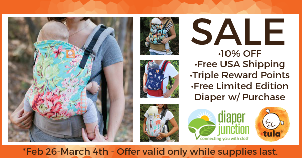 Our most AMAZING Tula Baby Carrier Sale yet!