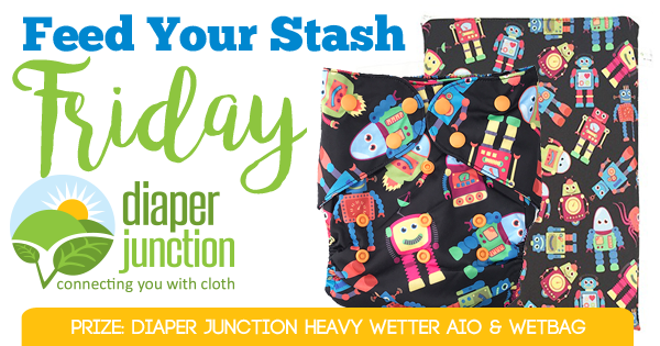 9/29/17 FYSF, Win a Diaper Junction Heavy Wetter AIO & Wetbag!