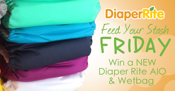 6/9/17 FYSF, Win a NEW Diaper Rite AIO Cloth Diaper & Wetbag!