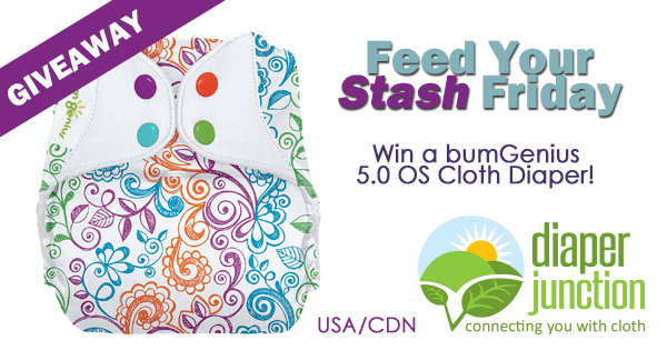 2/9/18 FYSF, Win a bumGenius 5.0 OS Cloth Diaper of your choice!