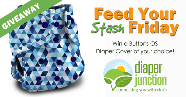 6/8/18 FYSF, Win a Buttons OS Diaper Cover of your choice!