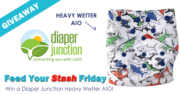 10/12/18 FYSF, Win a Diaper Junction Heavy Wetter AIO Cloth Diaper!