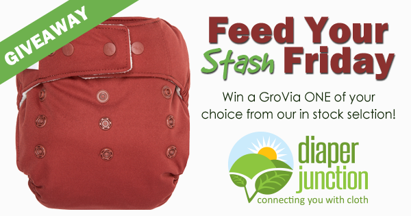 12/7/18 FYSF, Win a GroVia ONE Diaper of your choice!