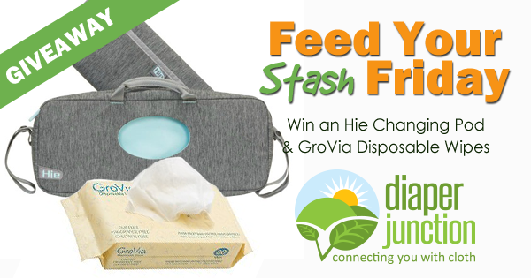 4/6/18 FYSF, Win an Hie Changing Pod + GroVia Disposable Wipes!