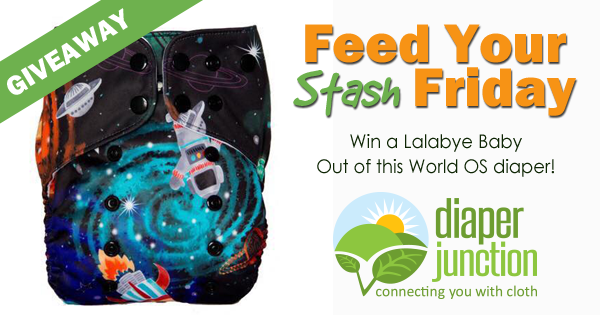 3/2/18 FYSF, Win a Lalabye Baby Limited Edition Out of the World diaper!