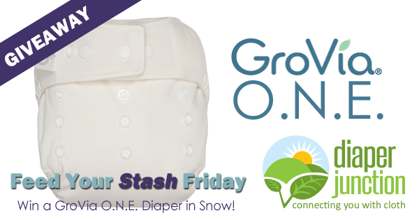 2/16/18 FYSF, Win a GroVia ONE Diaper in Snow!