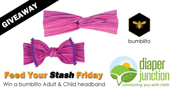 10/19/18 FYSF, Win a bumblito Adult & Child's Headband Set!