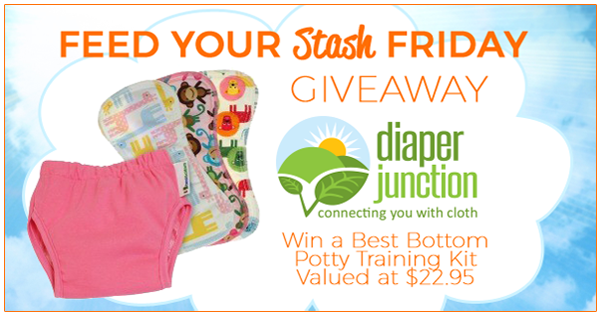 9/2/16 FYSF, Win a Best Bottom Diapers Potty Training Kit