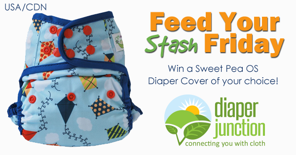 7/6/18 FYSF, Win a Sweet Pea Diapers OS Cover!