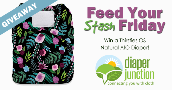 2/2/18 FYSF, Win a Thirsties Natural OS AIO Cloth Diaper!