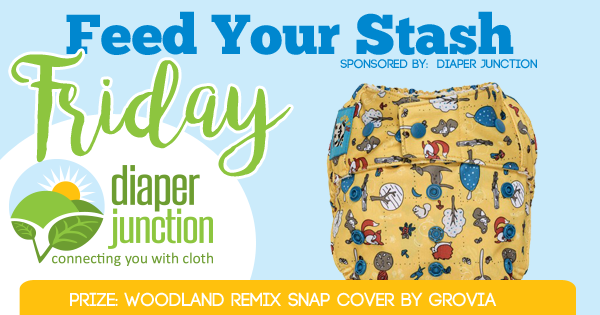 8/31/18 FYSF, Win a Woodland Remix Snap Shell by GroVia!