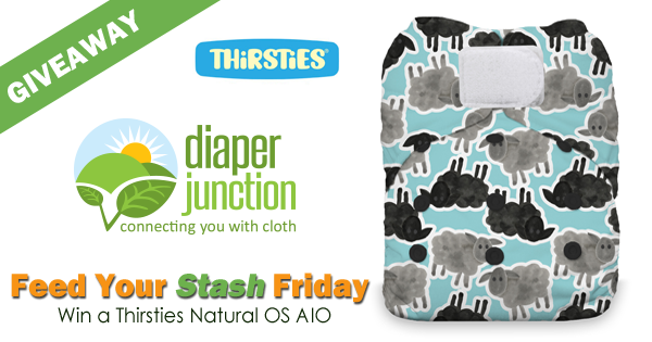 10/27/17 FYSF, Win a Thirsties Natural OS AIO Cloth Diaper!