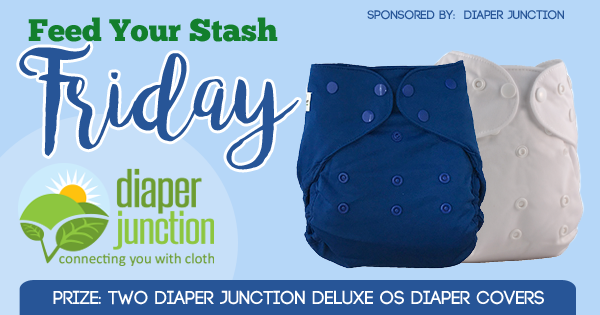 8/11/17 FYSF, Win TWO Diaper Junction Deluxe OS Diaper Covers!
