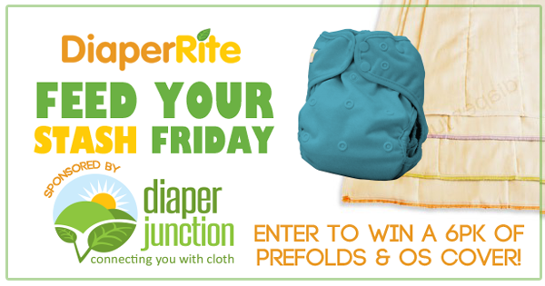 12/30/16 FYSF, Win a Diaper Rite OS Cover and Prefolds!