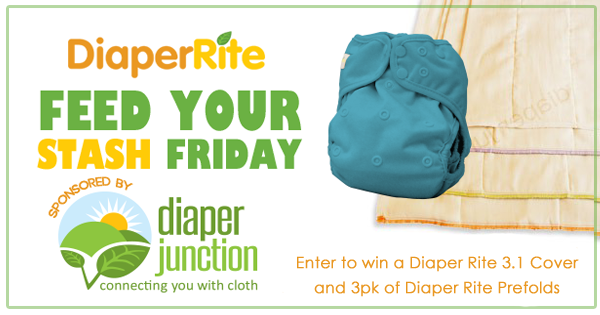 10/20/17 FYSF, Win a Diaper Rite 3.1 OS Cover & 3pk of Diaper Rite Prefolds!