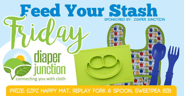FYSF 7/7/17, Win an EZPZ Happy Mat, RePlay Fork & Spoon and SweetPea Bib!