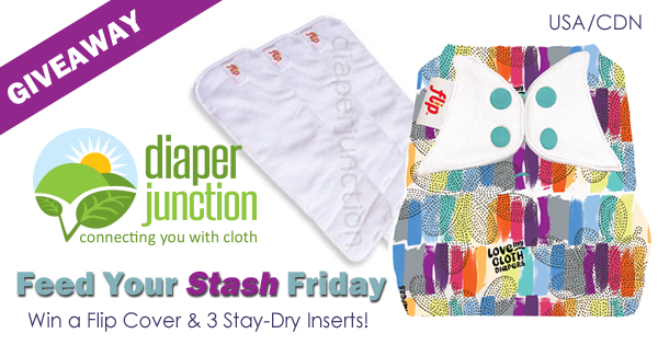 7/21/17 FYSF, Win a Flip Diaper Cover & 3pk of Stay-dry Inserts!