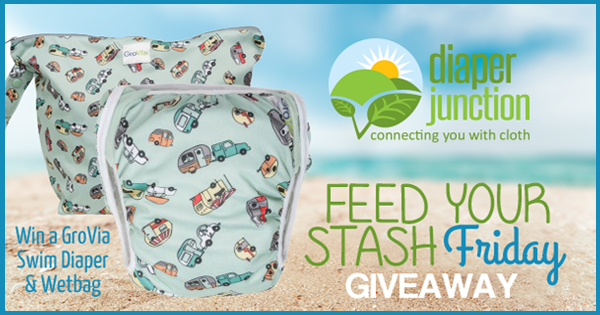 4/8/16 FYSF, Win a GroVia Swim Diaper & Zippered Wetbag!