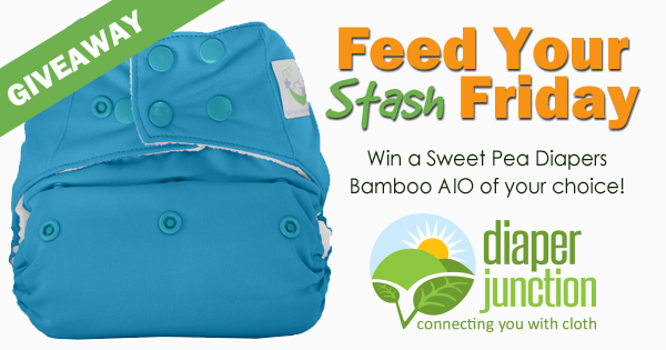 11/10/17 FYSF, Win a Sweet Pea Diapers Bamboo AIO of your choice!