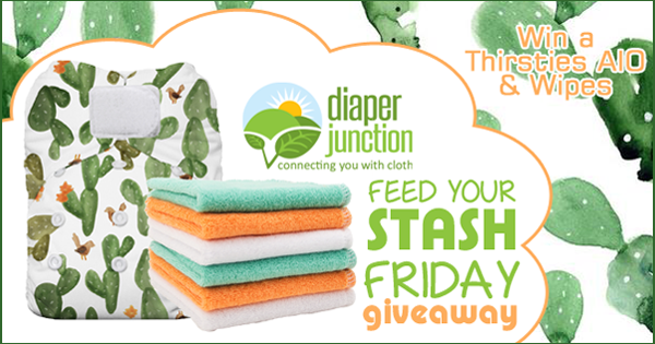 04/21/17 FYSF, Win a Thirsties AIO Diaper & Cloth Wipes!