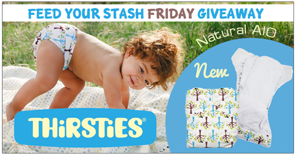 4/22/16 FYSF, Win the NEW Thirsties Natural OS AIO Cloth Diaper!
