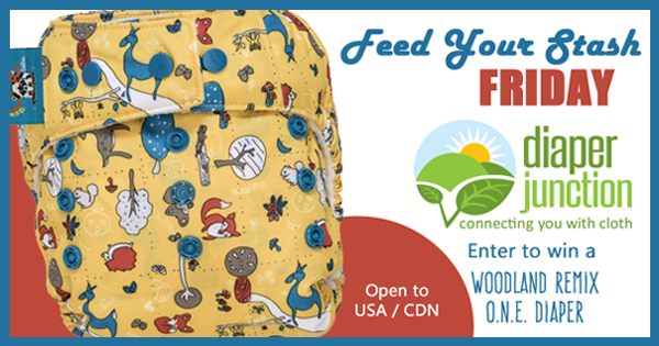 3/3/17 FYSF, Win a GroVia Woodland Remix O.N.E. Diaper!