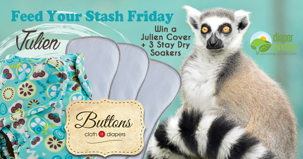 3/25/16 FYSF, Win a Julien Buttons Cover and Stay-dry Insert Set!