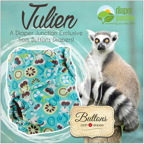 Meet Julien, a Buttons Diapers Exclusive for Diaper Junction!