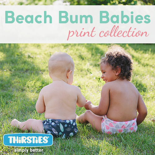 Thirsties Introduces NEW Swim Diapers and Beach Bum Babies Print Collection!