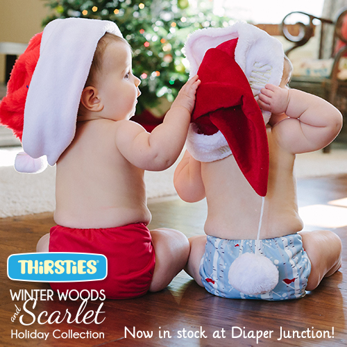 Thirsties NEW Winter Woods Cloth Diaper Collection is in stock!