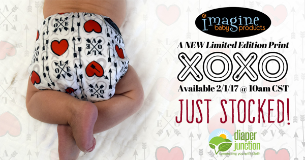 XOXO from Imagine Baby Products is NOW in stock!