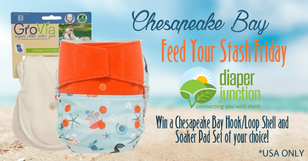3/18/16 FYSF, Win a Chesapeake Bay Shell and Soaker Pad Set!