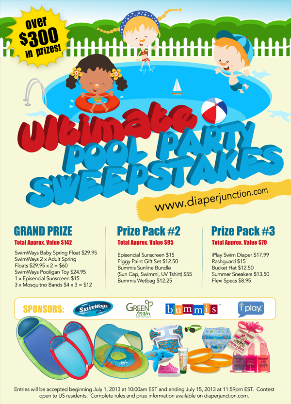 poolparty,sweeps,giveaways