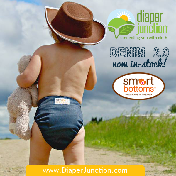 New Denim 2.0 Cloth Diapers & Wetbags from Smart Bottoms!
