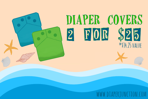 Diaper Cover Grab Bag Sale, 2 for $25 while supplies last!