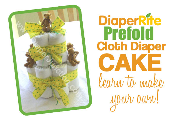 cloth diaper cake,baby shower
