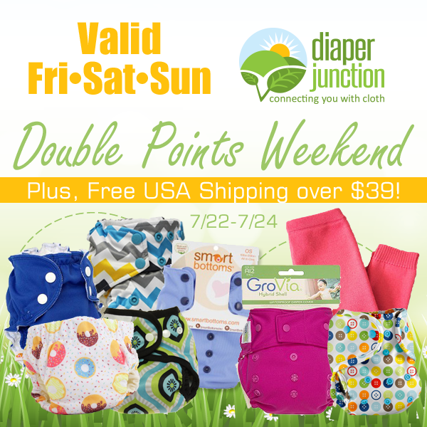 DOUBLE POINTS All Weekend Long!  July 22-24th