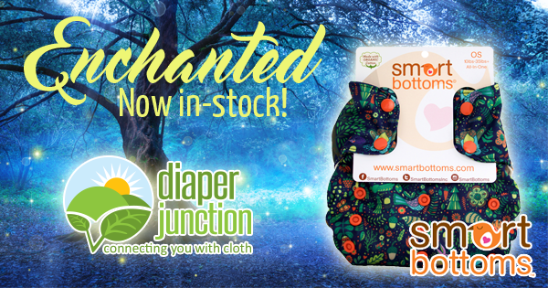 Smart Bottoms Enchanted Diapers & Covers have just stocked!